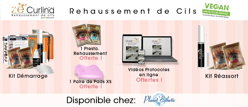 rehaussement de cils INZEBOX
